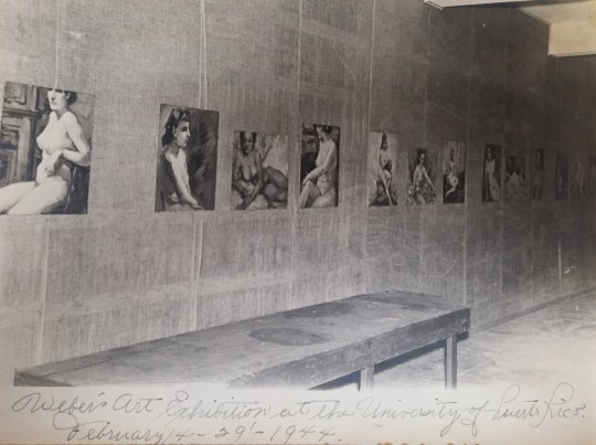 Exhibition at the University of Puerto Rico