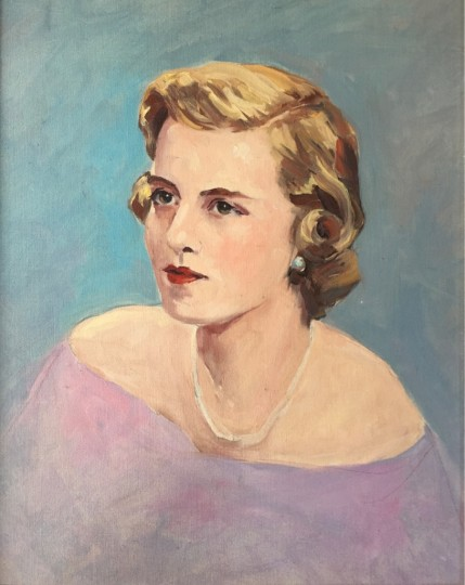 Rosemary (Gannon) (Weber 1957-1969) Liddle - artist's son's first wife