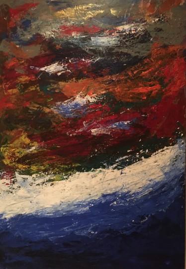 Waves of Sea Glass