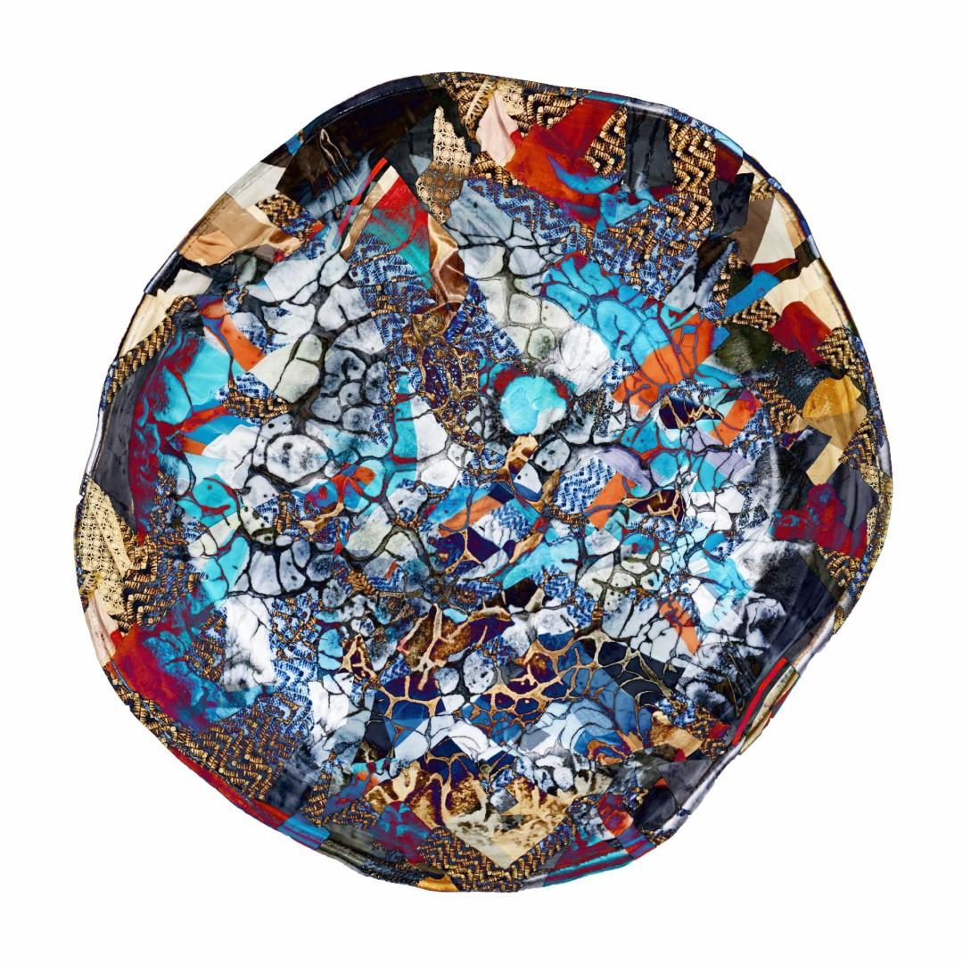 Wrap - artwork by Jiwon Ra: ceramic, digitalmedia, patchwork Abstract, Abstract, Digital, Other