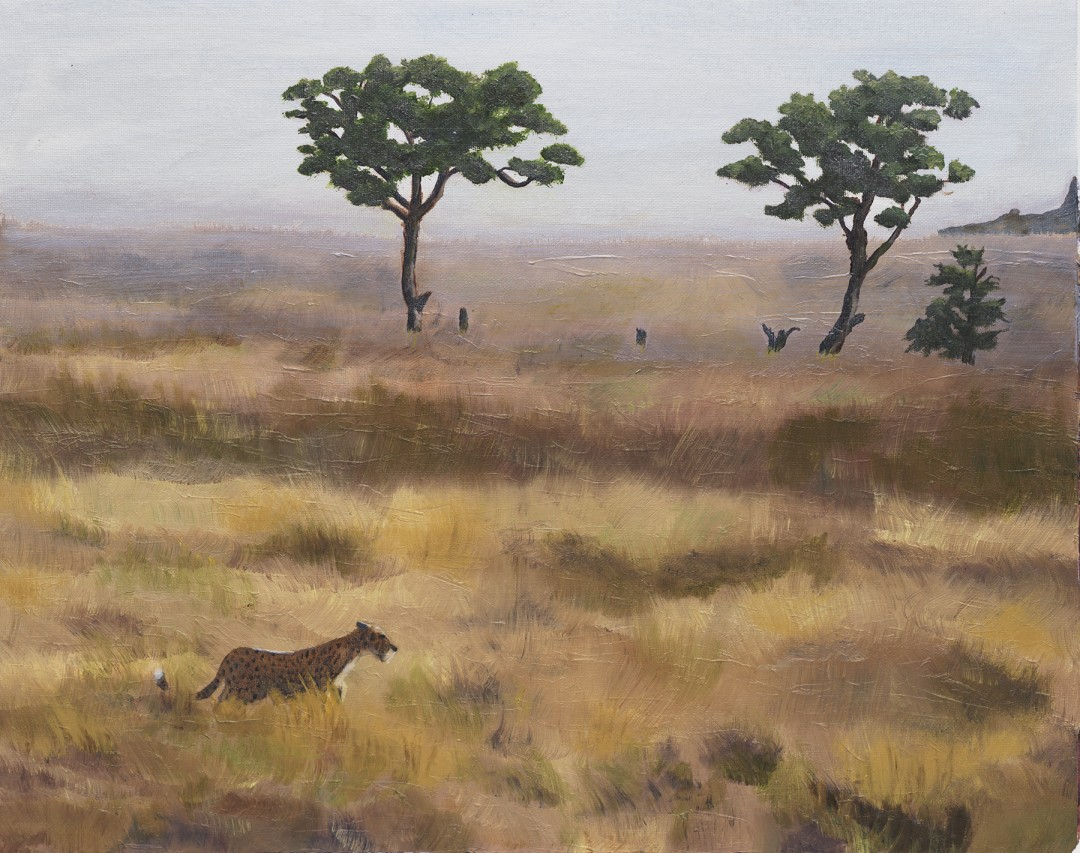 In the Wild - artwork by Monica Pepicelli:  Animals, Classical, Oil, Canvas