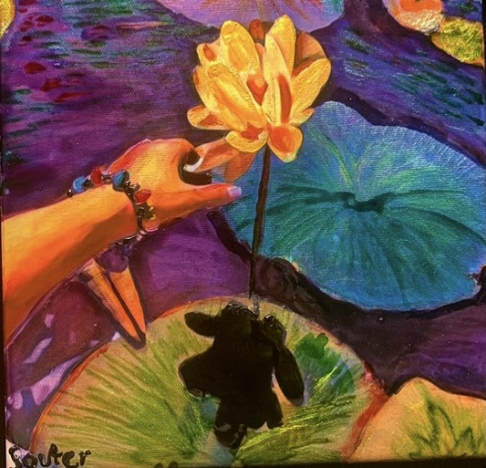 Huron Ohio:Huron River Waterlilies-This One Is For Monet