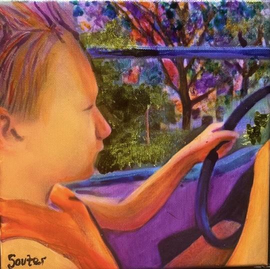 Cedar Point with My Son- Like Driving Miss Daisy