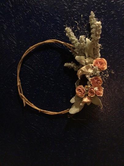Little skull and roses