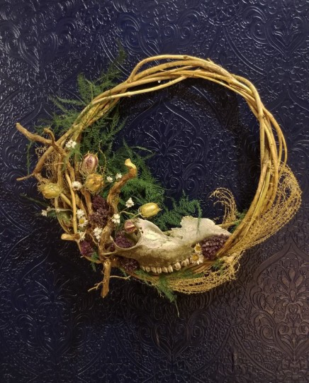 Skull Fragment Wreath