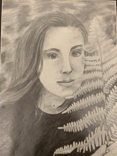 Wild Fern Portrait