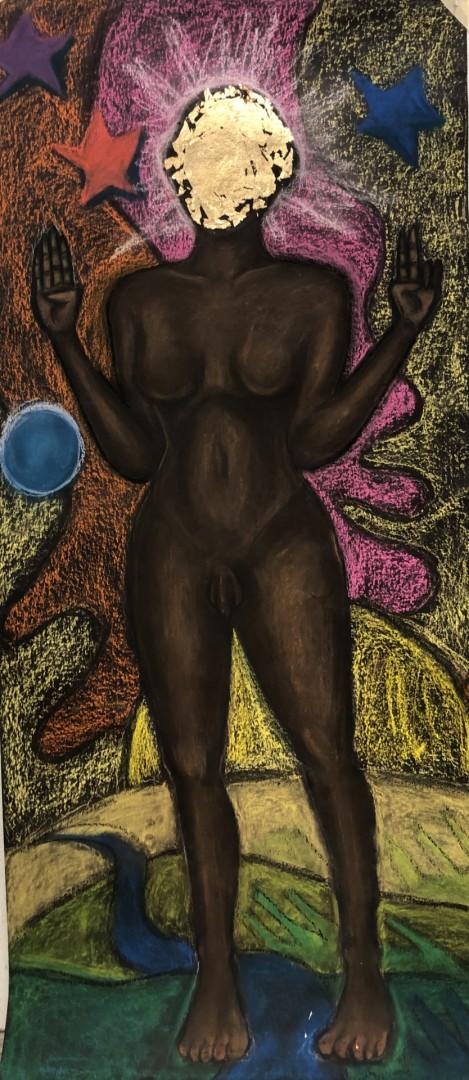the divine feminine  - artwork by Charlie Esker: