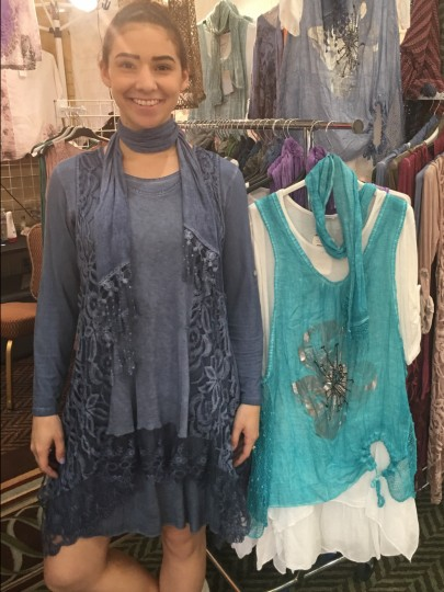 Original dresses and separates  by Moda Lucido made with naturalItalian fabrics