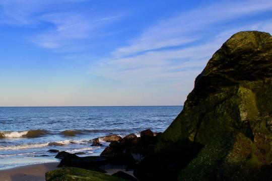Herring Point rocks