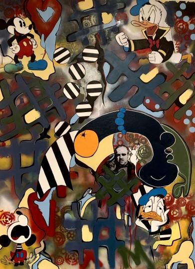Cartoon Disney&Godfather