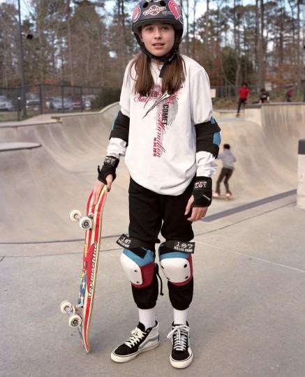 Gabby, Dunwoody Skateboard Park; February 2021