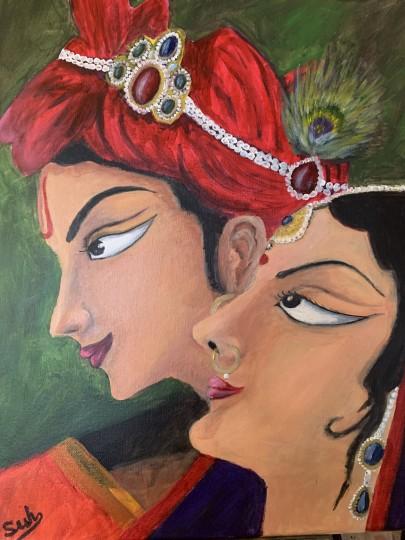 Eterna love- Radha Krishna