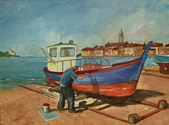 Rovinj Fishing Boat