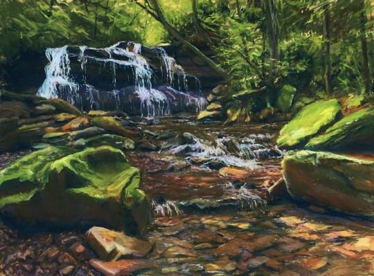 Upper Falls Holly River