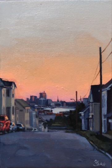 Dawn in Saint John