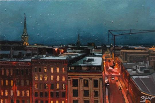 King Street Night View #2