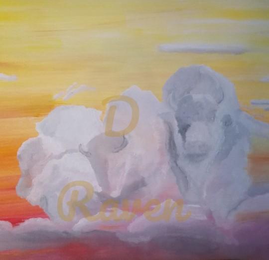 Buffalo Warrior Cloud