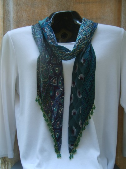 Traditional Beaded Scarf