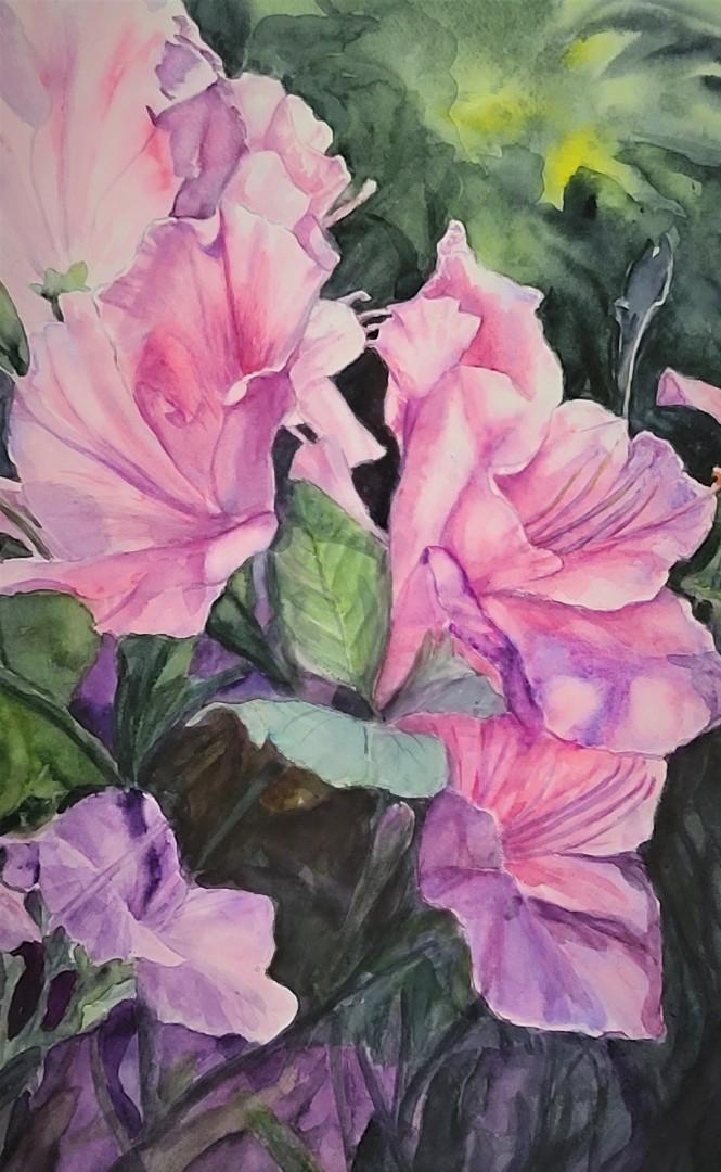 AISAN GARDEN - artwork by Lynda Jung: