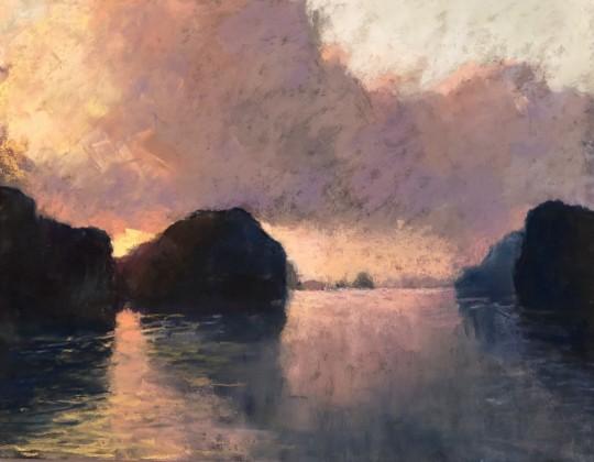 Morning Reflections on Ha Long Bay
