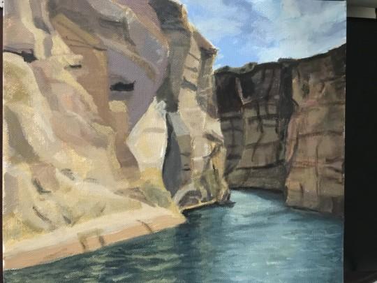 Lake Powell Boulders