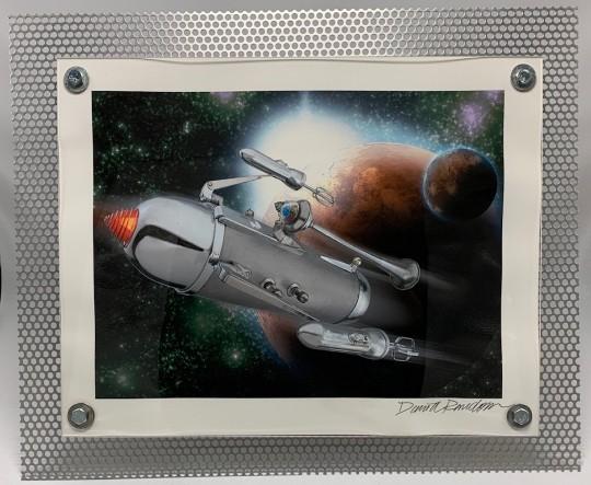 Rocket in Space #1