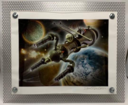 Rocket in Space #8
