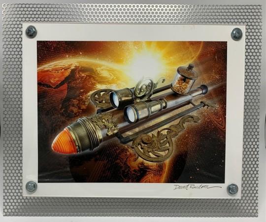 Rocket in Space #5