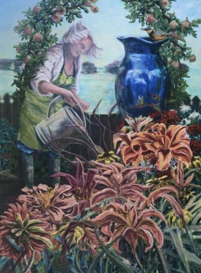 The Gardener by the Ocean