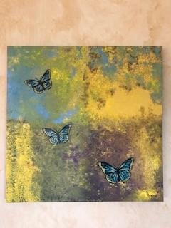 Blue Sky Butterflies