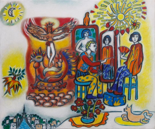 Chagall painting Bella