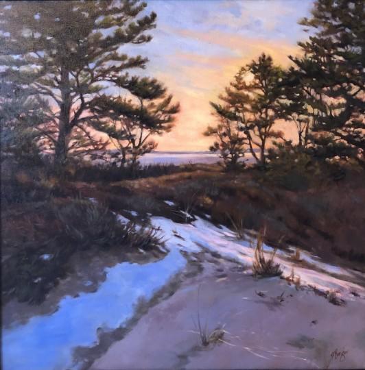 Winter Dunes in Maine