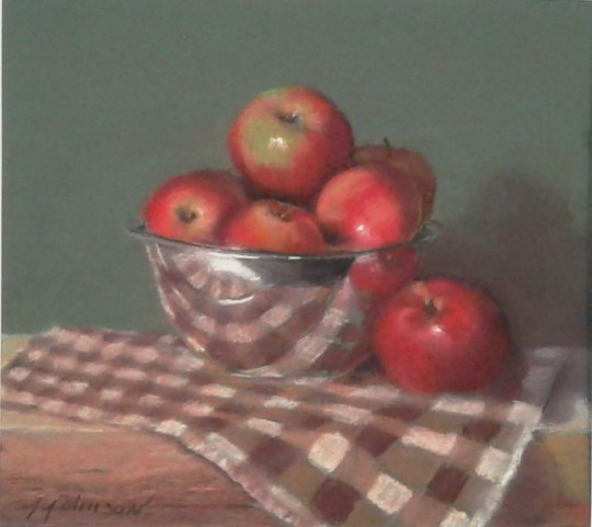 Bowl of Apples with Reflections