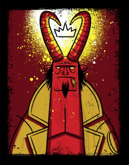 Hellboy, King