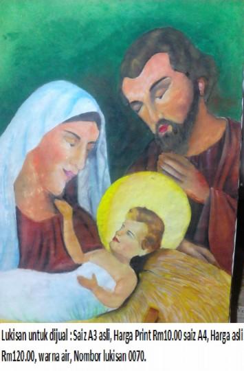 Anak Jesus Dilahirkan - 2