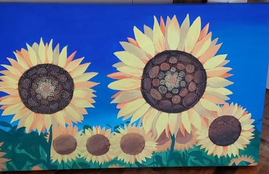 Earlier Sunflowers