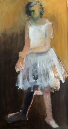 White dancer