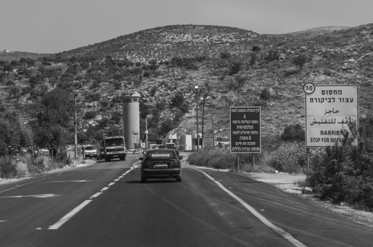 Driving in Palestine