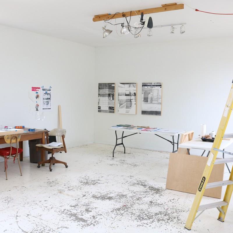 Anne Muntges Artist Studio View