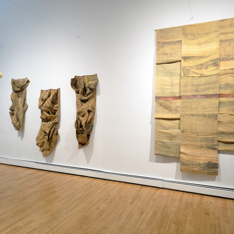 Tahir Carl Karmali Artist Studio View