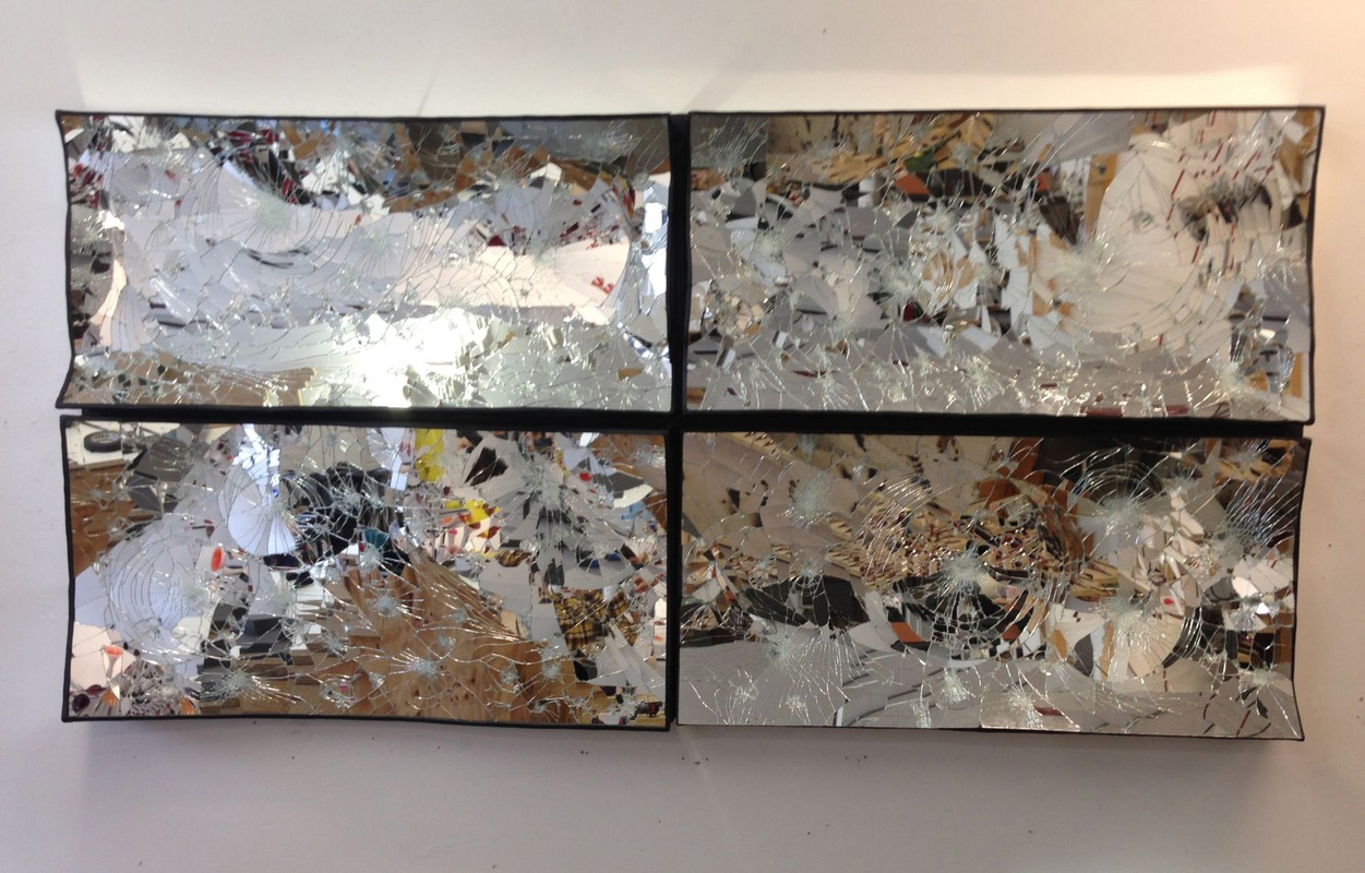 Artwork – Broken Mirror Quadriptych, 2016