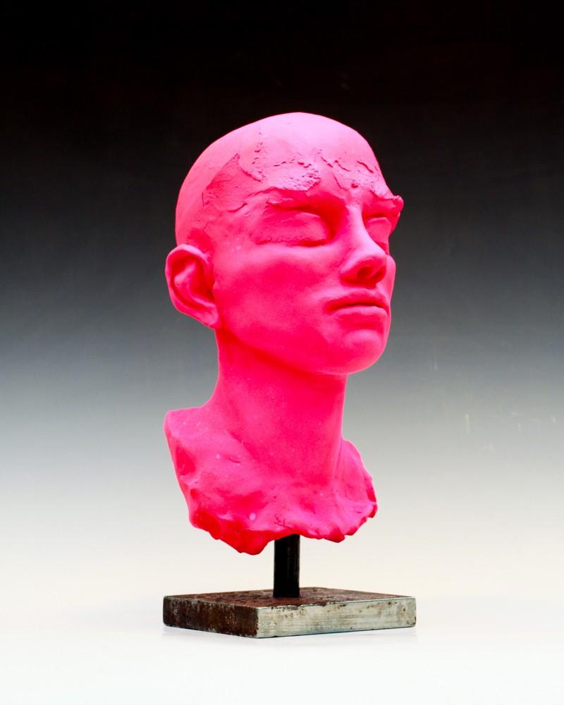 Artwork – CoPortraits Study #1- Man's Head, 2018