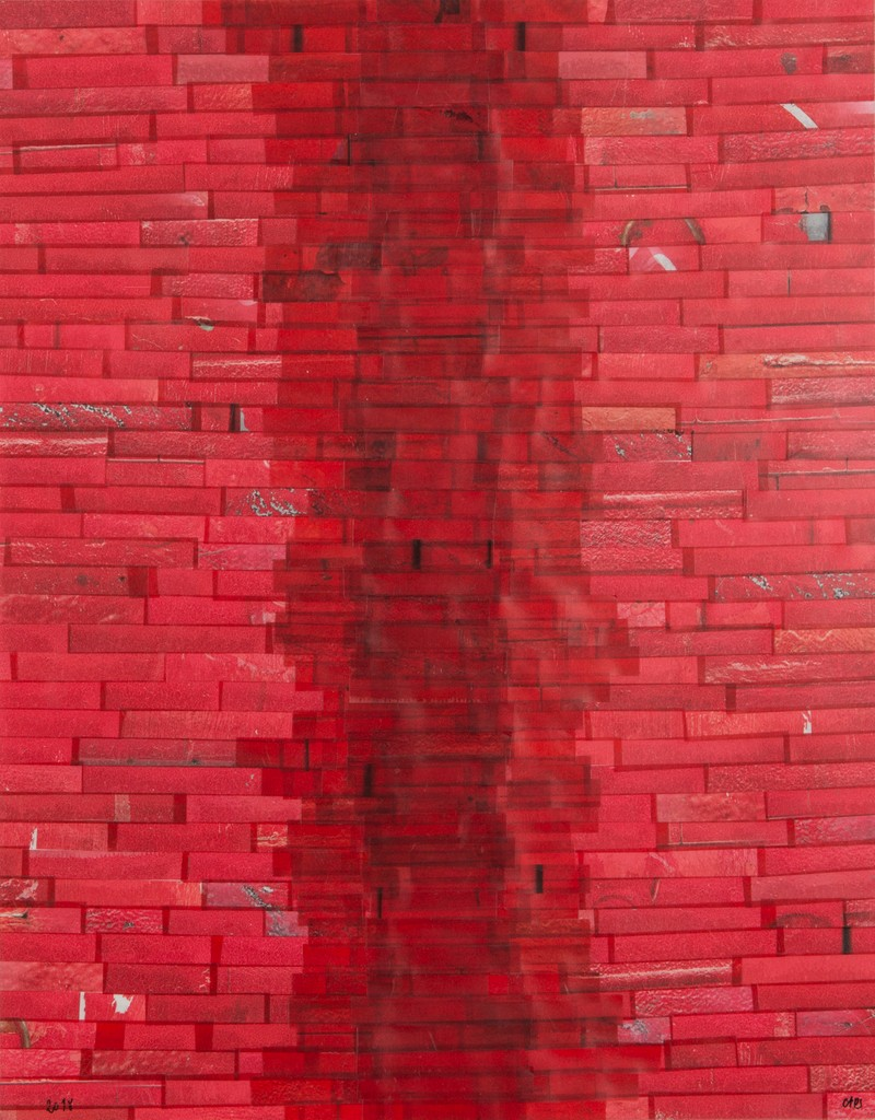 Artwork – INTERRUPTION IN RED, 2018