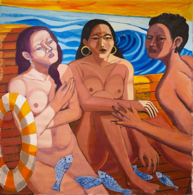 Artwork – Chunbum Park, The Three Muses, 2021