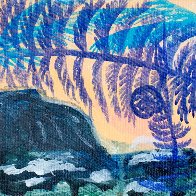 Artwork – Waipi'o (acid wash), 2016