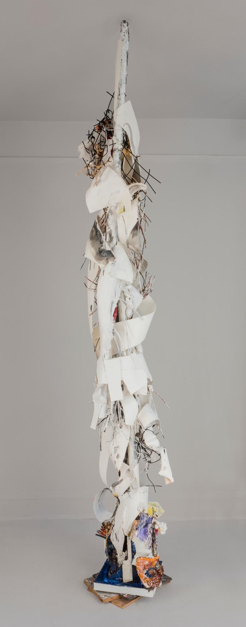 Artwork – Paper Totem, 2020