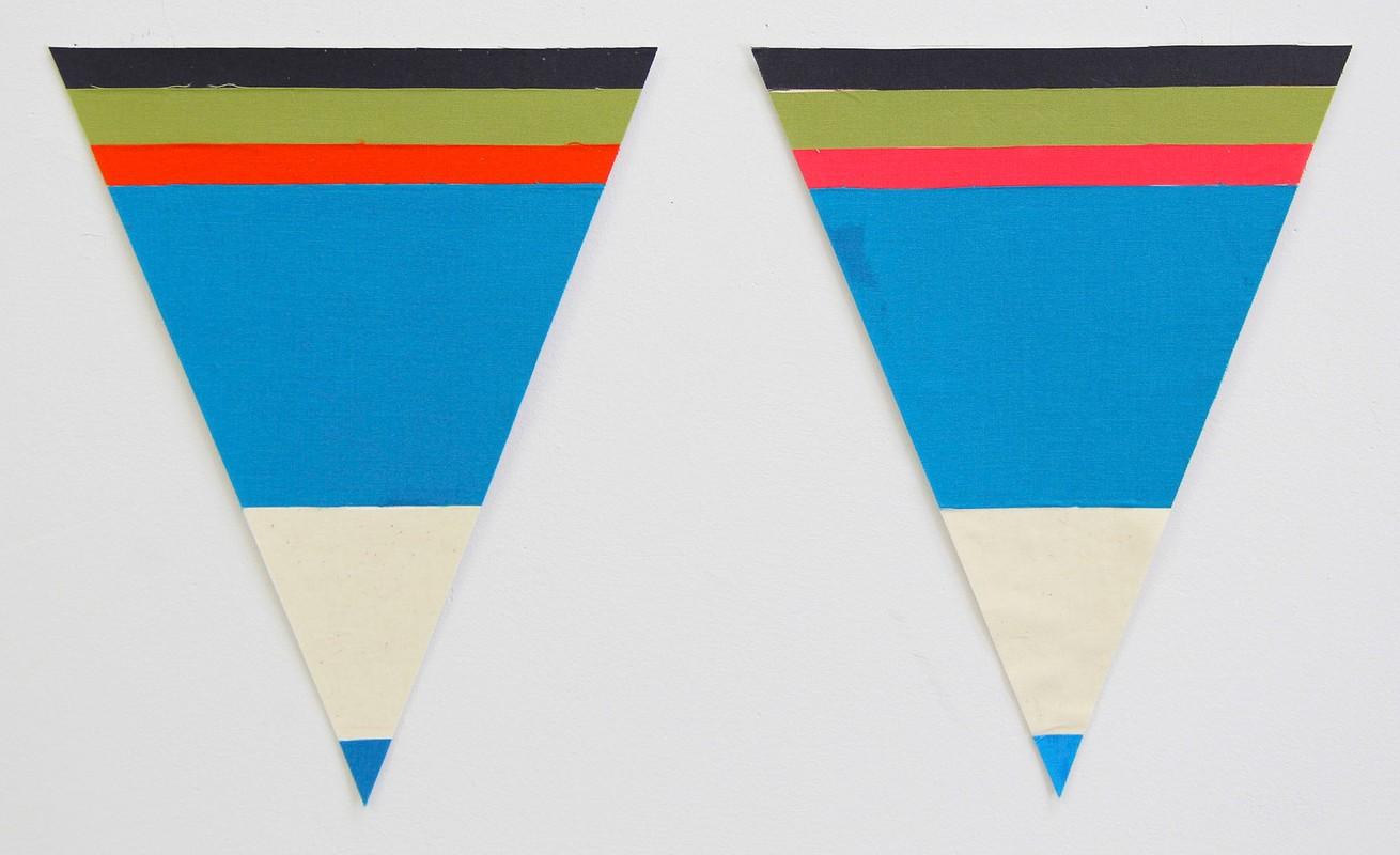 Artwork – Flagettes, No. 6 (Diptych), 2018