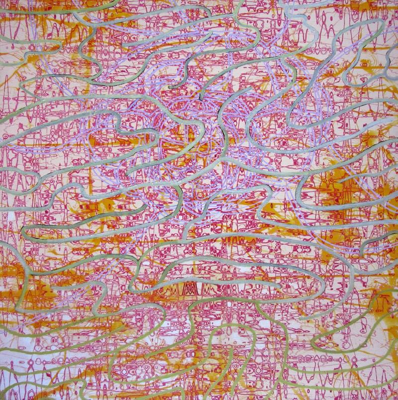Artwork – Bryan Stryeski, Info. Overload, 2005