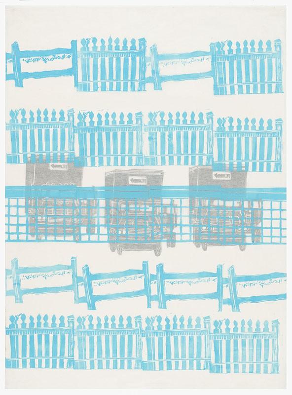 Artwork – Movement: Fences and Gates I, 2021