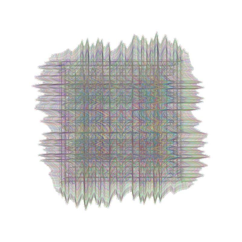 Artwork – Recursive Expressions (Squint #3), 2017
